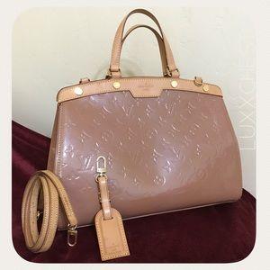 Louis Vuitton Rose Velours MM Brea Set